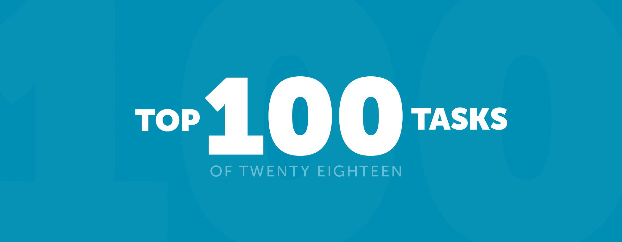 The best 100 tasks on Airtasker this year - Airtasker Blog