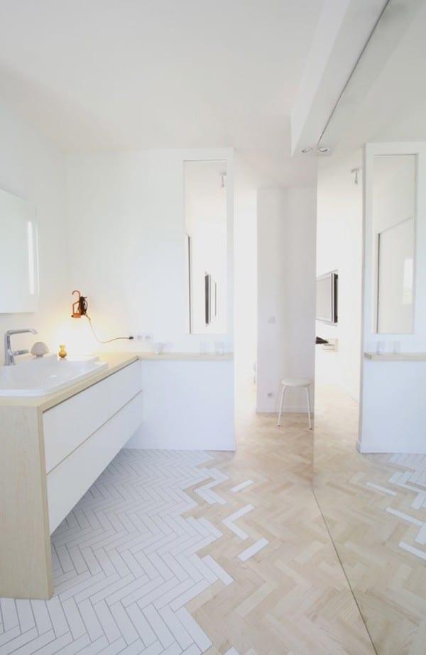 50 Beautiful Bathroom Tile Ideas Small Bathroom Ensuite Floor