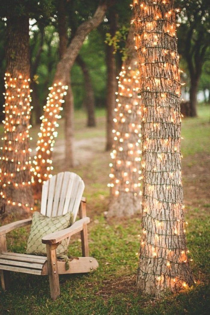 backyard fairy light