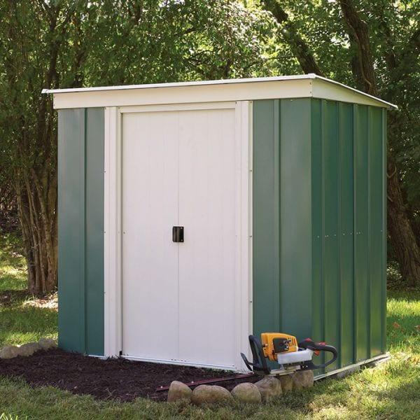 backyard-ideas-metal-shed