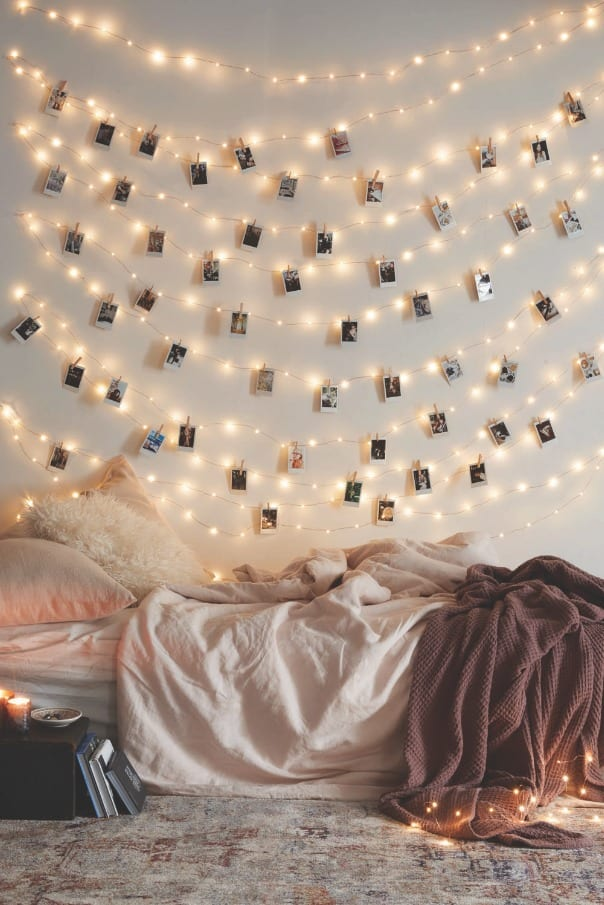 fairylights-bedroom