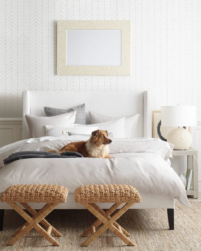 hemp-rug-bedroom-dog