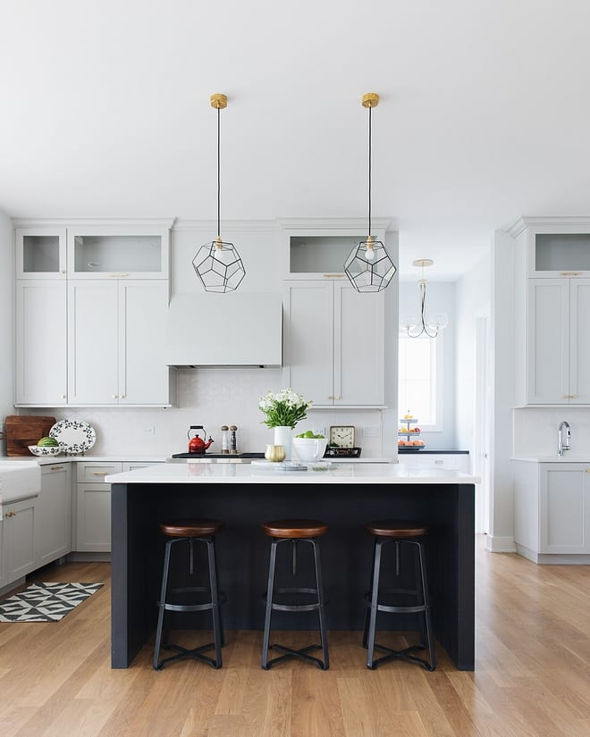 Small Kitchen, Backsplash And Island