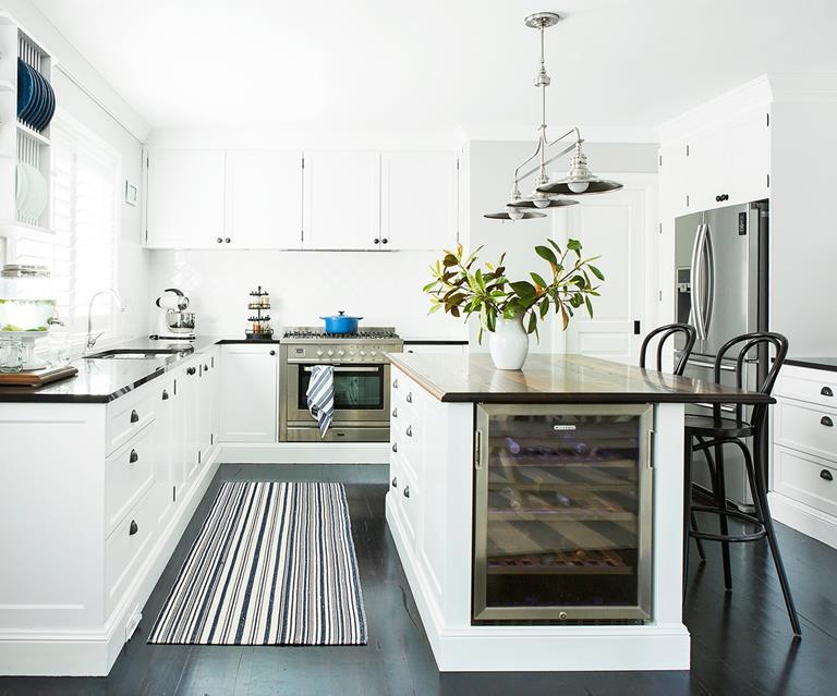 kitchen-ideas-island-table-wine-fridge
