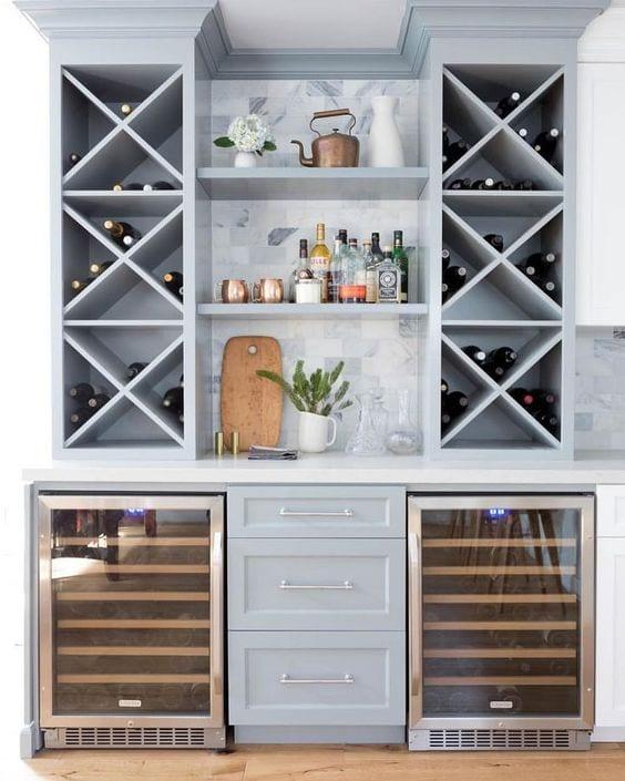 kitchen-ideas-wine-fridge-bar