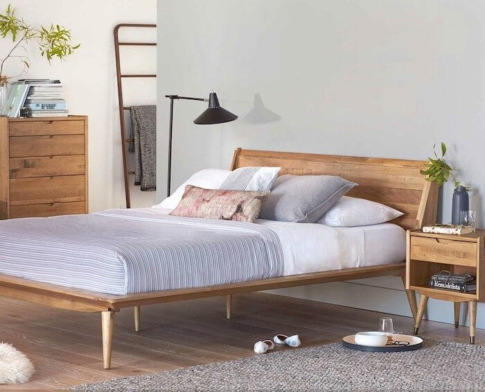 scandi-bedroom-timber-bed