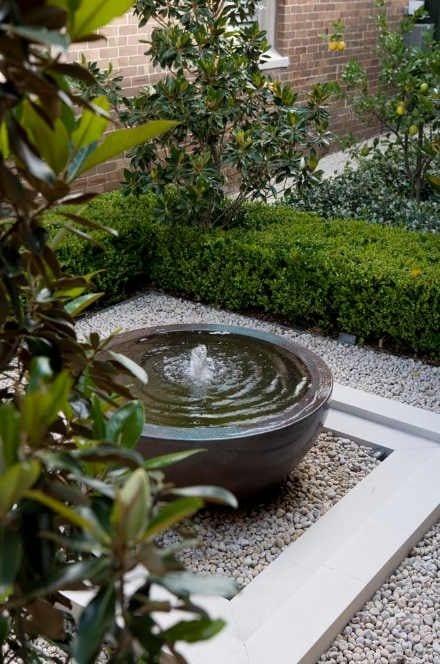 garden pond water feature