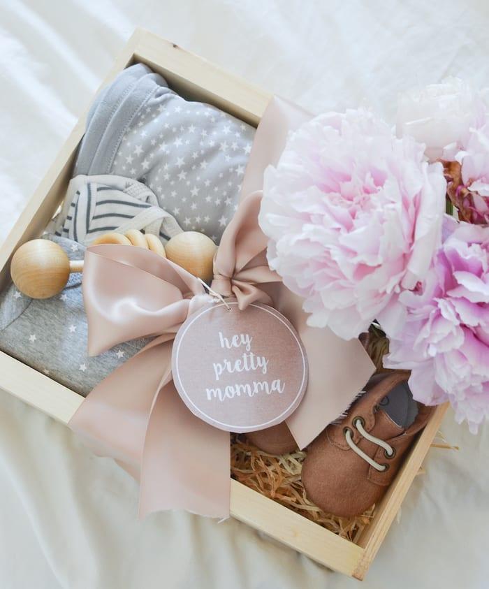 baby shower gift hamper