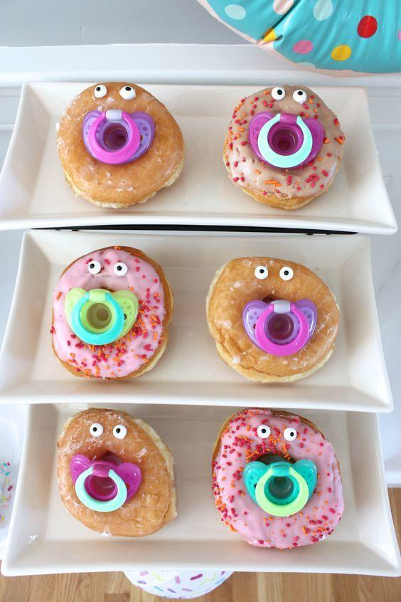 donuts for baby shower