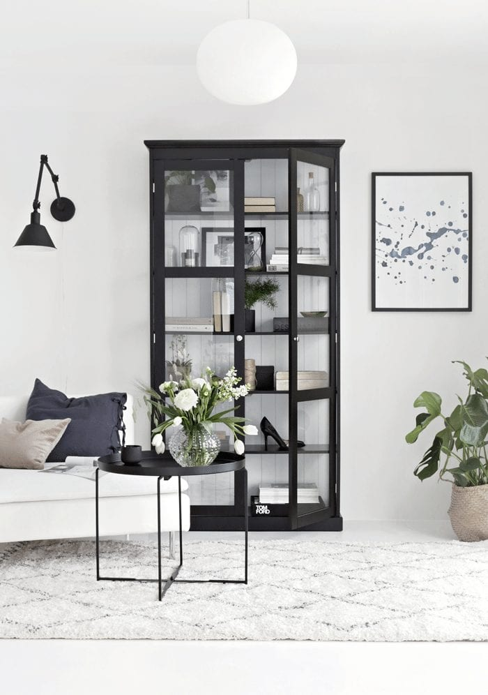living room ideas glass display cabinet - Airtasker Blog