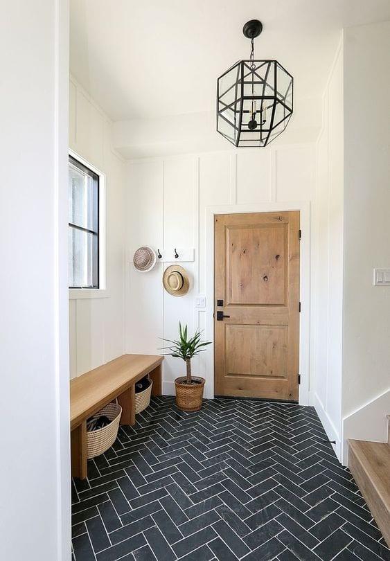 mudroom flooring ideas