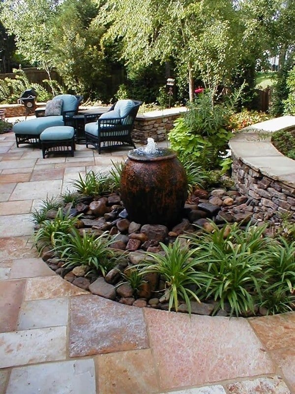 patio-fountain