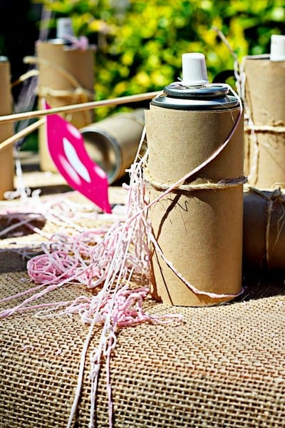 pink silly string gender reveal ideas
