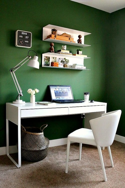 bottle-green-home-office