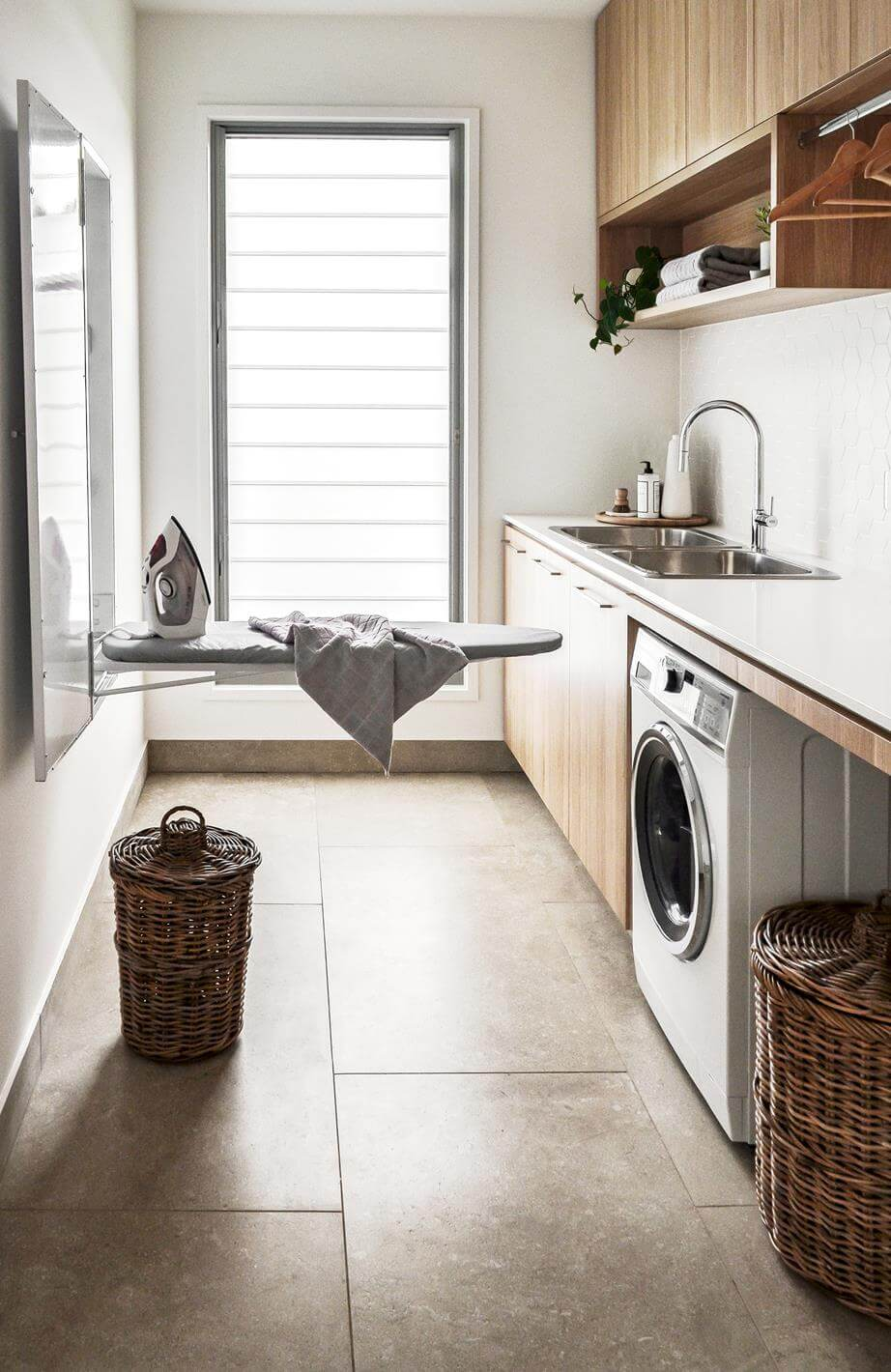 45 Lovely Laundry Ideas Small Laundry Design Storage Organisation