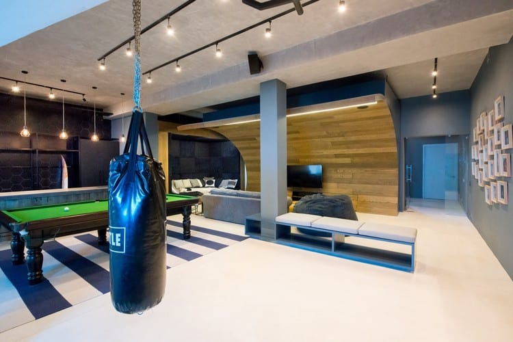 35 Most Wanted Man Cave Ideas Pool Table Movie Screen And Sports Bar