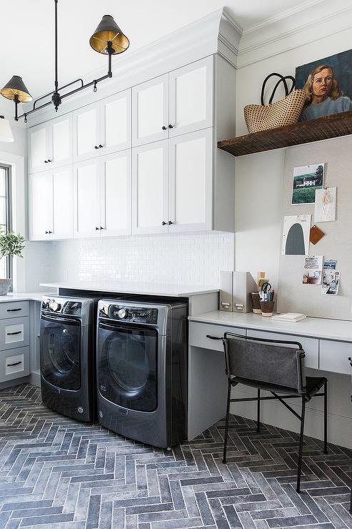 white-and-gray-laundry-room-cabinets