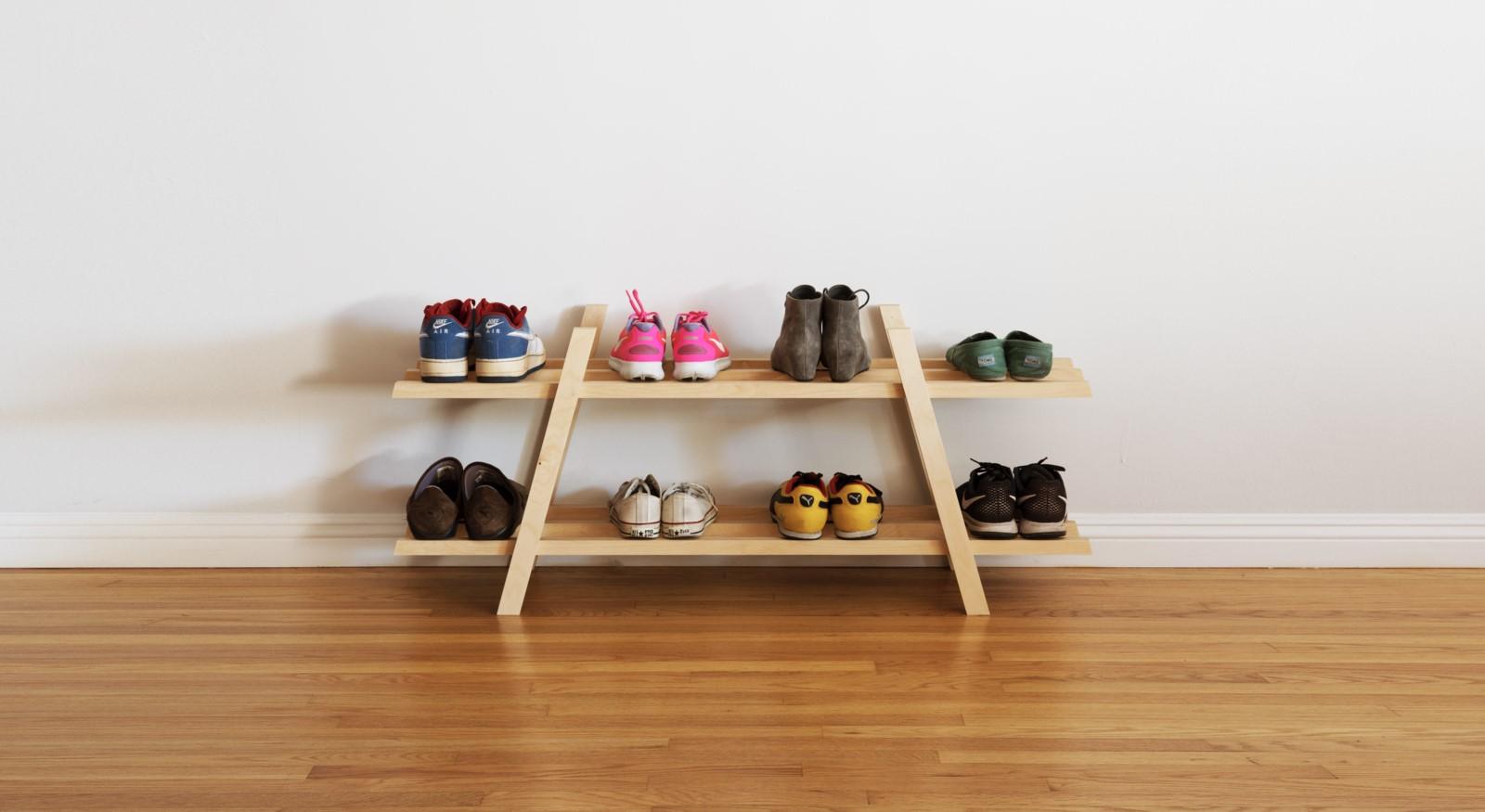 a simple DIY shelf