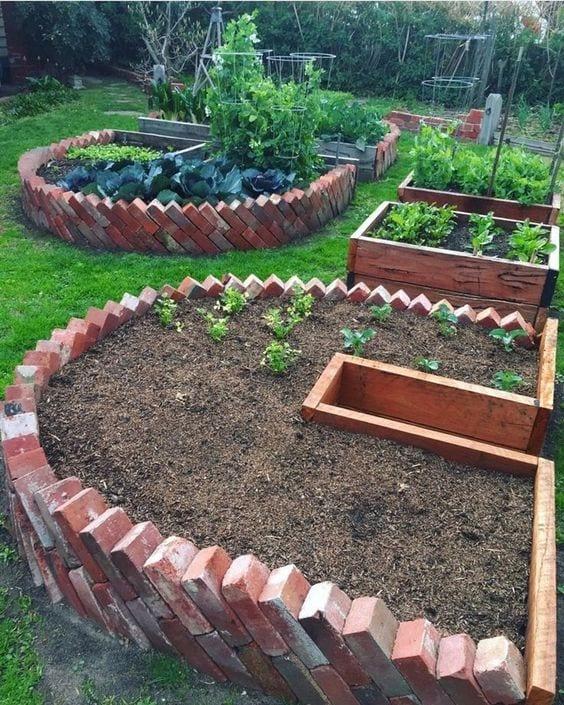 33 Raised Garden Bed Ideas Diy Garden Beds Garden Bed Edging