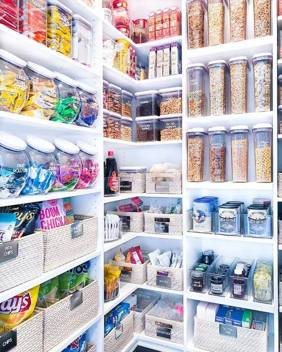 colourful kitchen storage ideas
