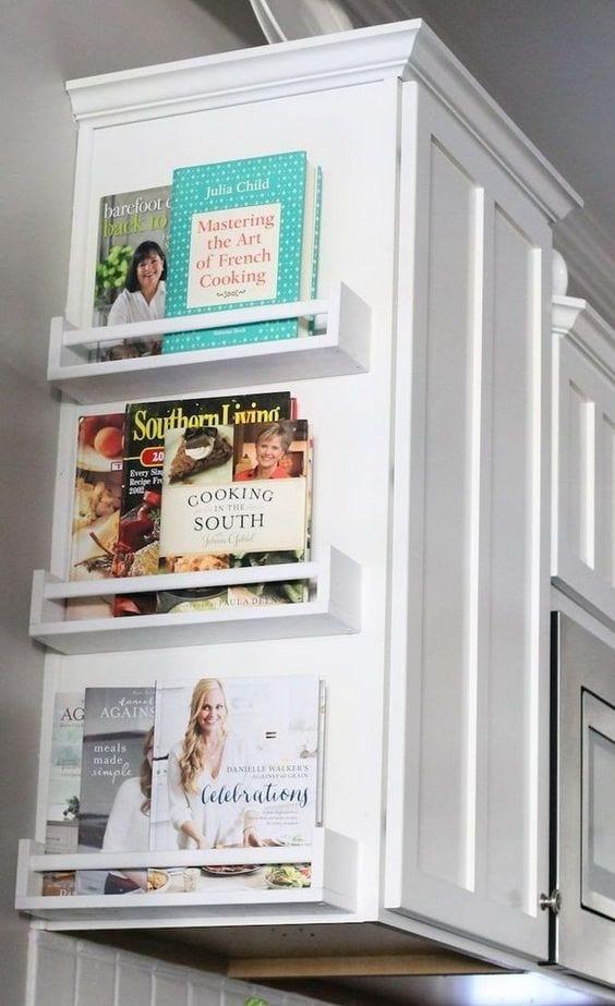 cookbook wall