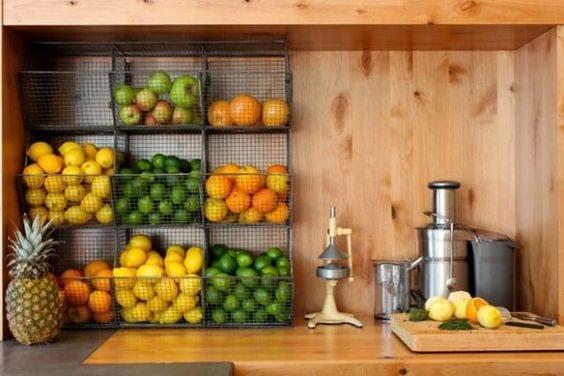 creative fruit storage