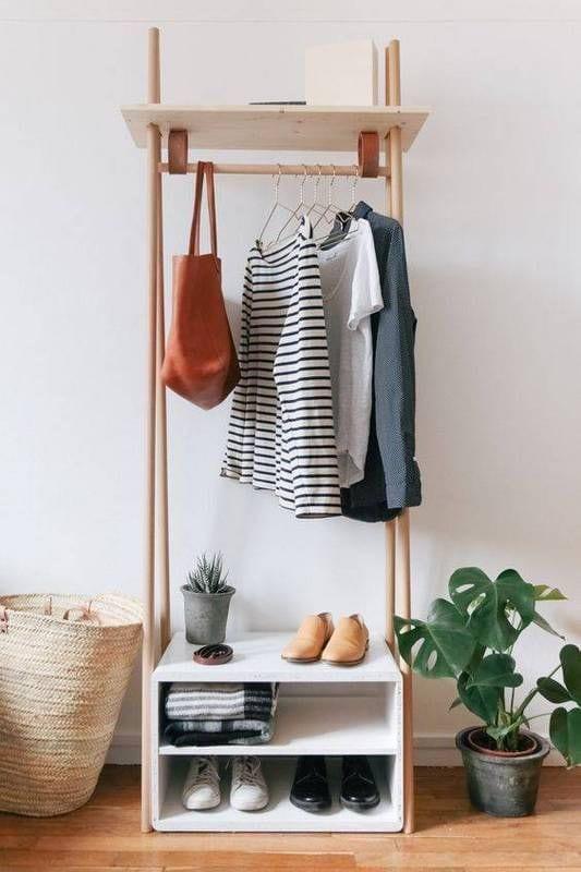 freestanding rack