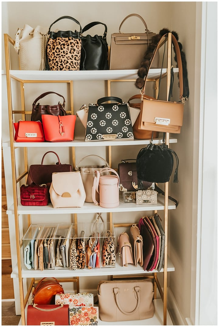 Handbag shelf