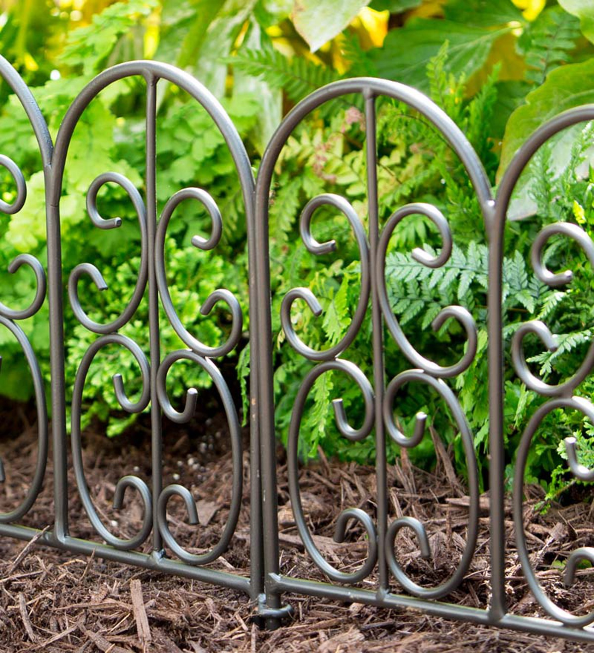 Wrought garden edging