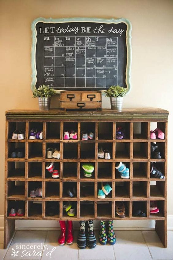 repurposed cupboard