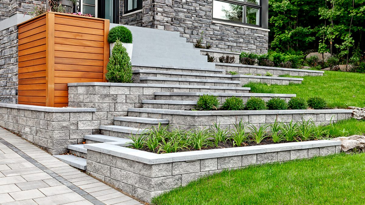8 Retaining wall ideas for your garden - material ideas, tips and