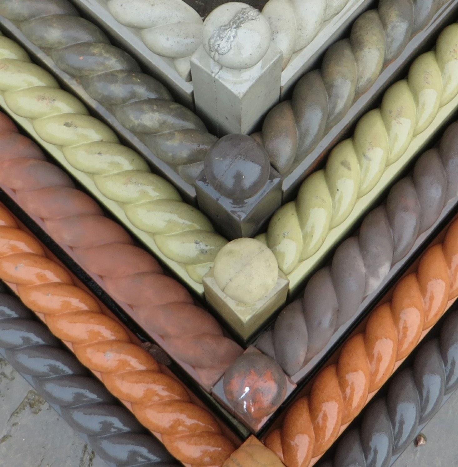 Terracotta lookalike edging