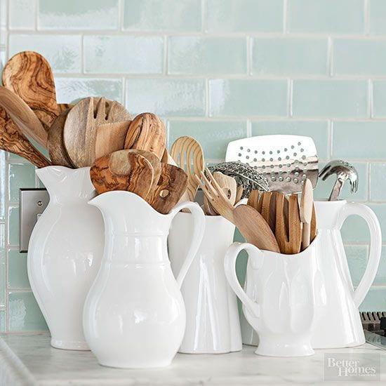 utensils in ceramic