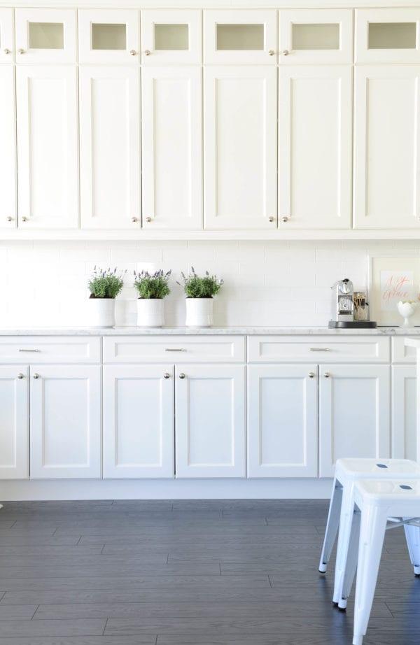 white kitchen storage ideas