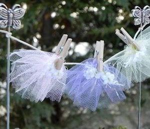 DIY fairy clothesline