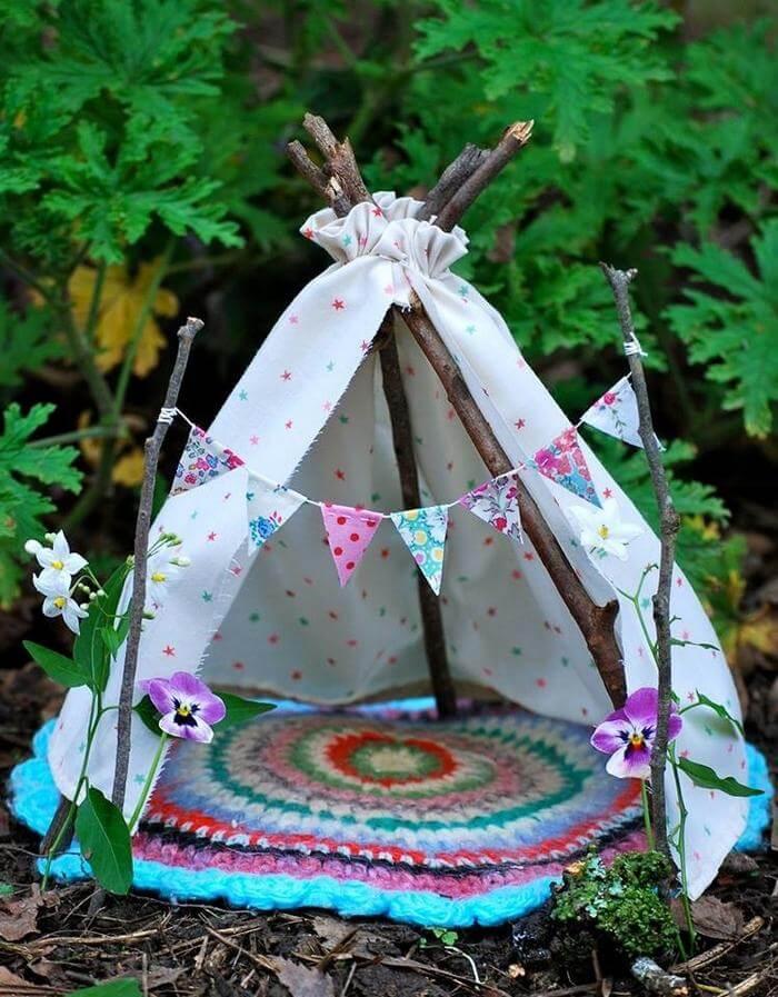 DIY fairy tents