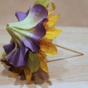 DIY flower umbrella