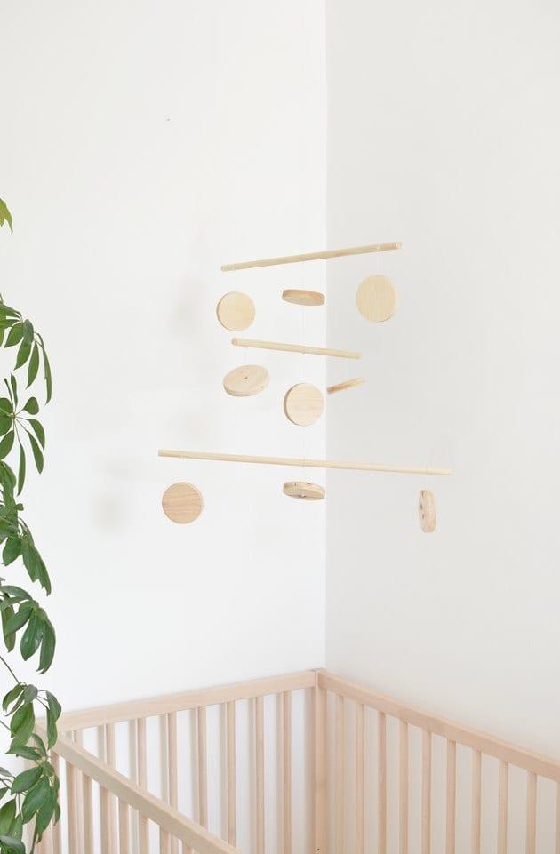 DIY hanging mobile