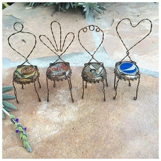 DIY mini chairs
