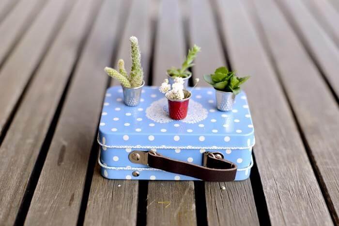 more DIY thimble planters