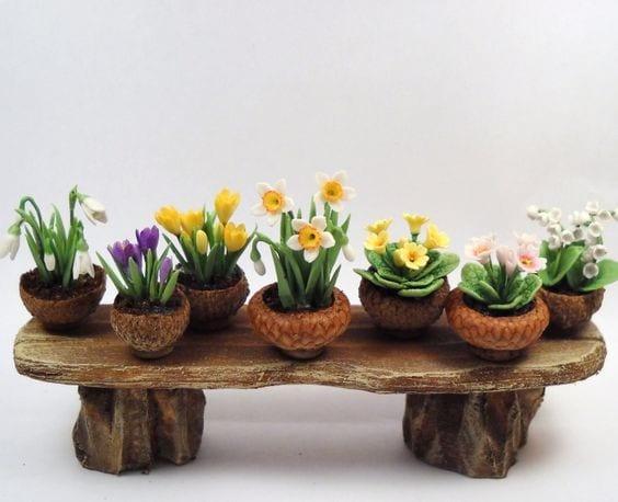 acorn flowerpots