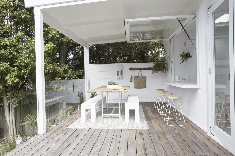Alfresco deck