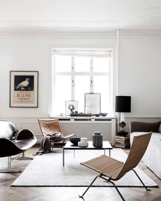 Basic white rug