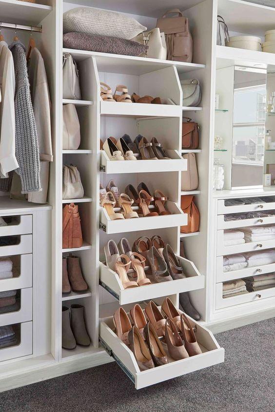 bespoke wardrobe solutions for shoe storage