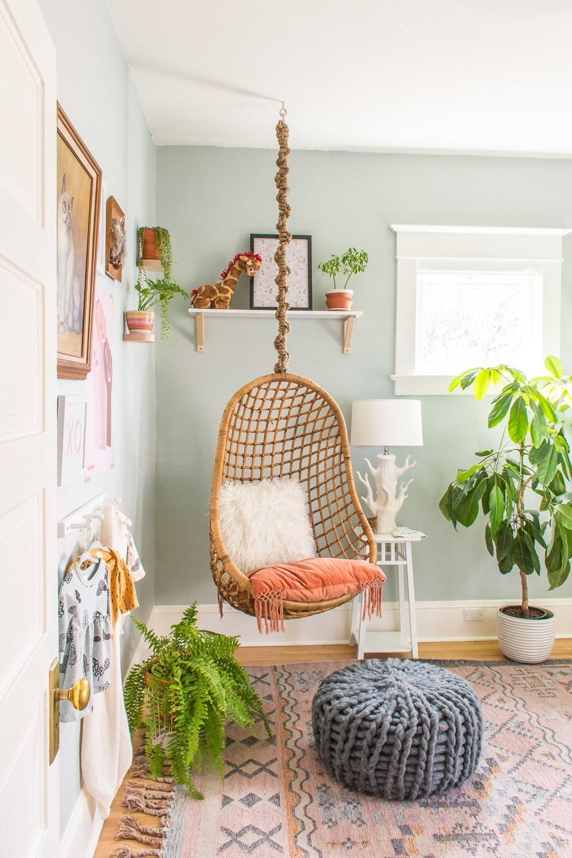 Chair swing in nursery