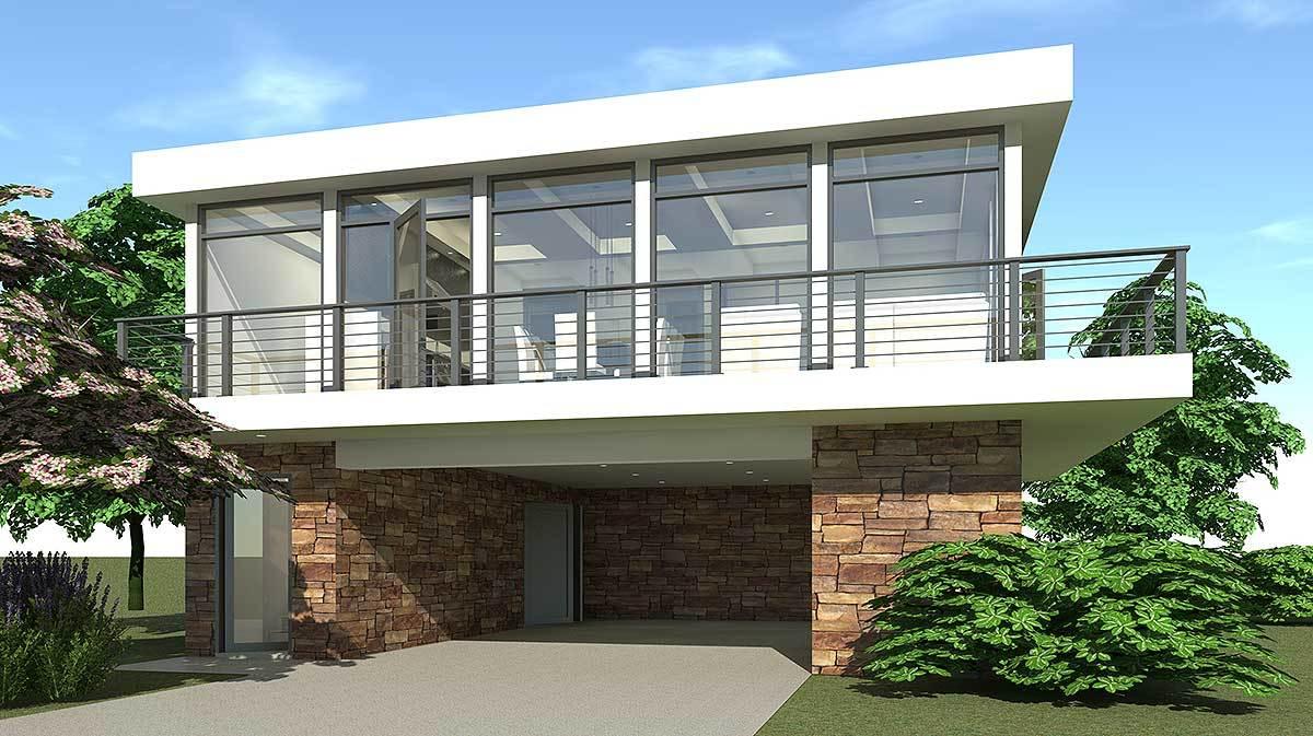 Contemporary getaway house