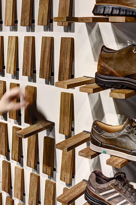 flip down shoe ledges