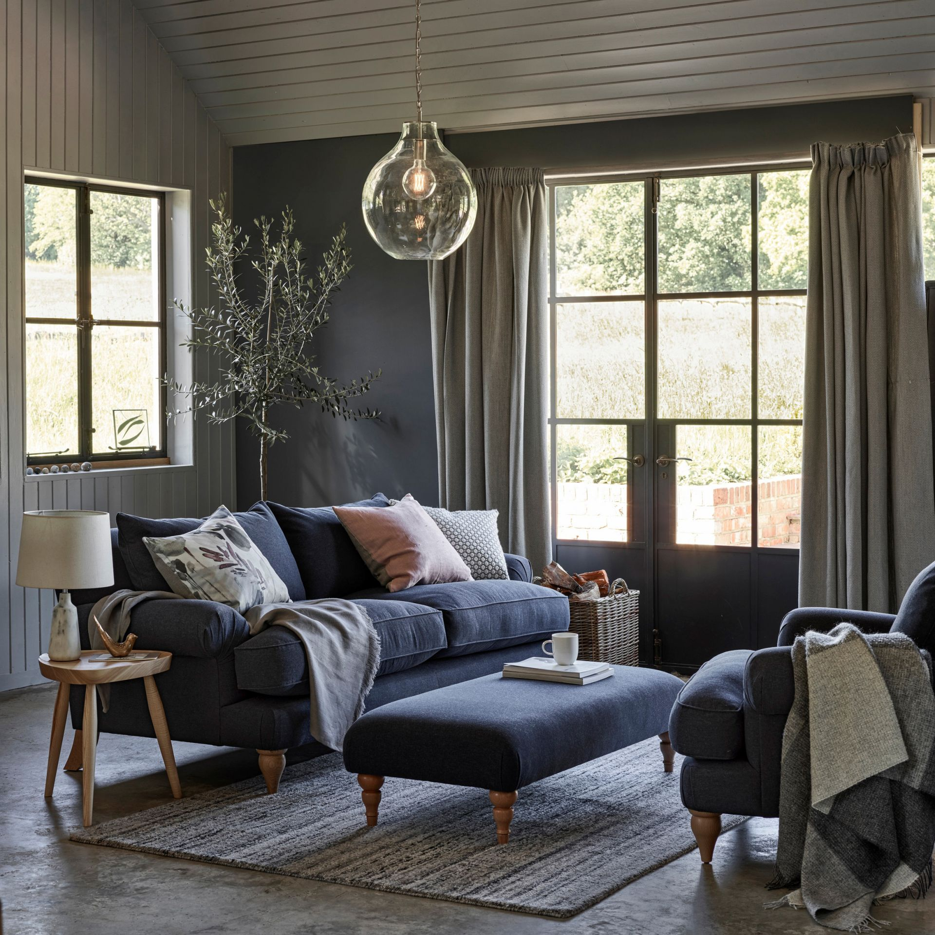35+ Gorgeous Grey Living Room Ideas