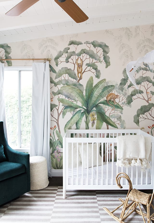 Jungle mural nursery
