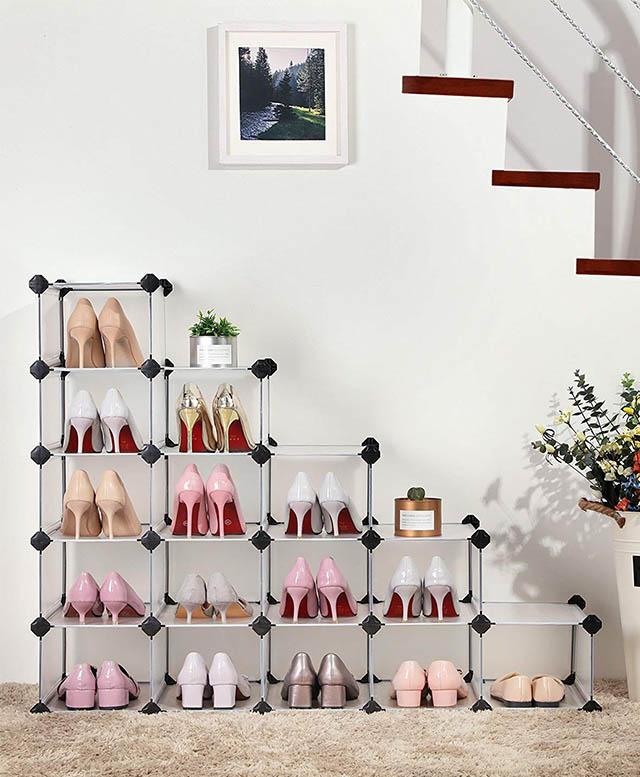 modular shoe storage system